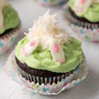 Bunny Butt Cupcakes Recipe
