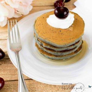 Cherry Oatmeal Pancakes 680x