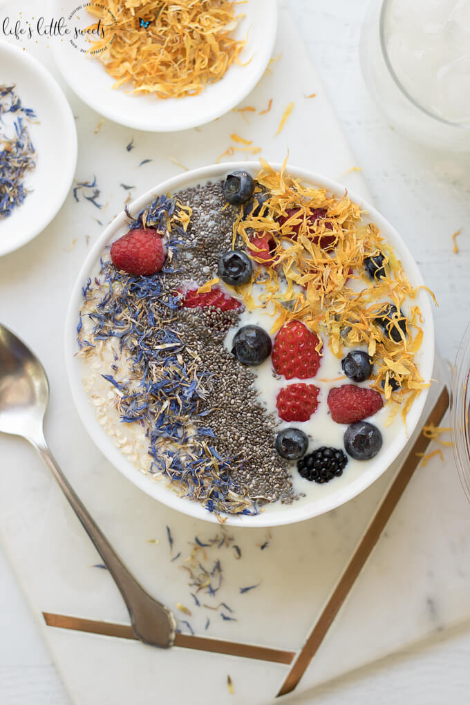 Easy Vanilla Protein Smoothie Bowl