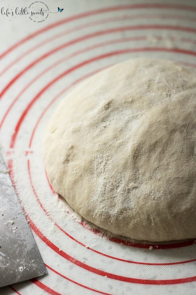 I walk you through How To Make Pizza Dough with this quick and easy recipe. This pizza dough tutorial has only 5 minutes resting time allowing you to bake up some homemade pizza faster than you think is possible and you can customize it with your favorite toppings! (1 recipe makes 2 individual pizzas or 1 large pizza) #pizza #pizzadough #pizzacrust #homemade #recipe #breadflour #homemadepizza