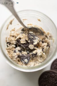 Cookies and Cream Overnight Oats