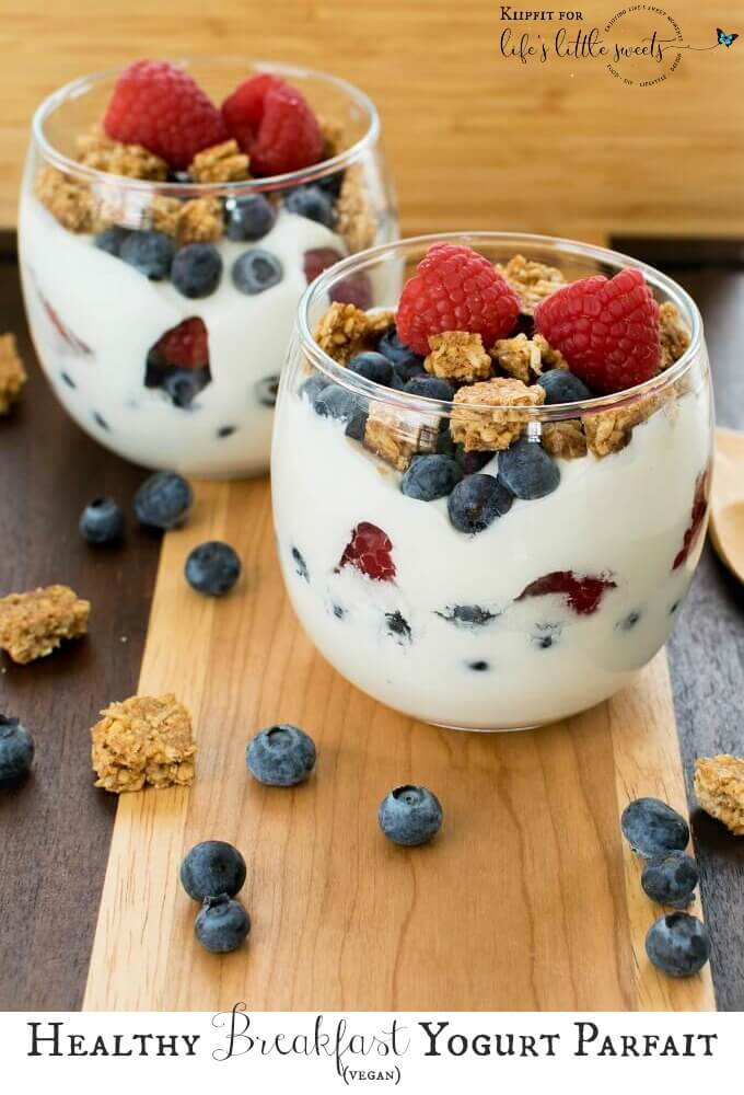 This Healthy Breakfast Yogurt Parfait is easy to whip up and uses only three ingredients to make your morning routine super easy and lip smacking.