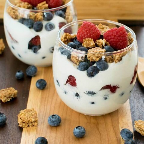 Healthy Breakfast Yogurt Parfait