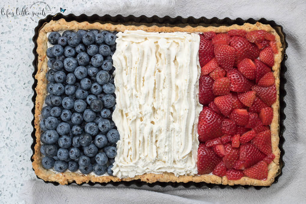 French Flag Tart