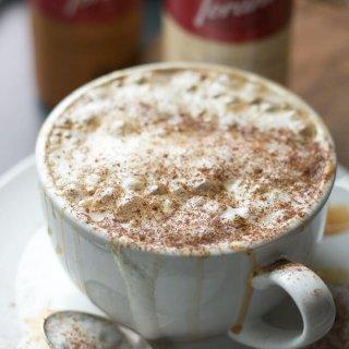 White Chocolate Caramel Caffè Mocha