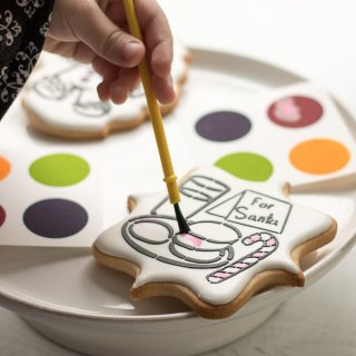 Paint your Own Cookie Kits by Sugar Cupid Sweets