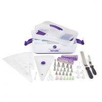 Wilton Decorator Preferred Buttercream Cake Decorating Set, Creating Your Masterpiece is as Easy as Cake, 48-Piece