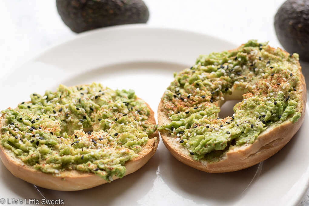 Avocado Bagel Toast