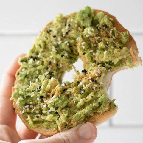 Avocado Bagel Toast