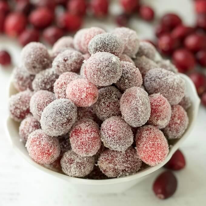 Sugared Cranberries