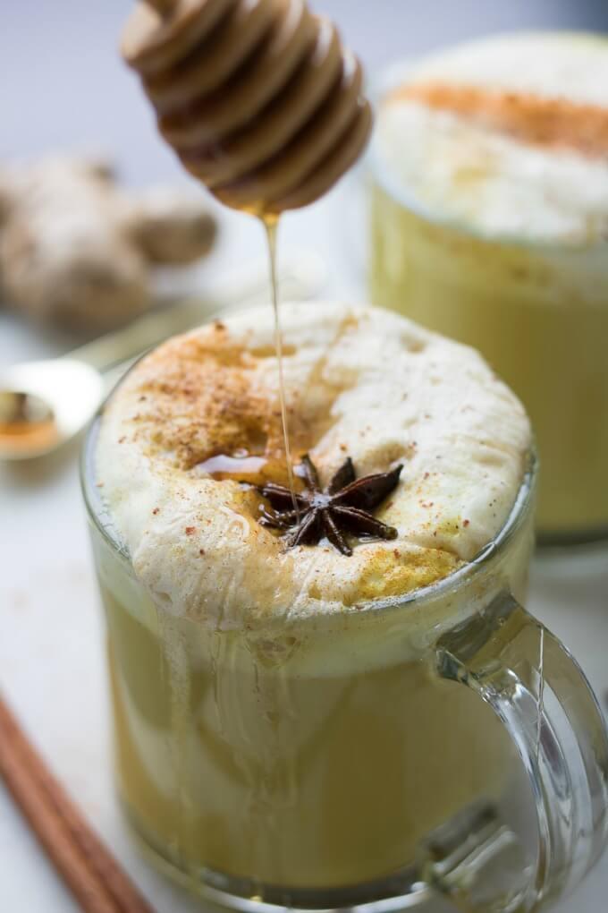 Golden Milk Latte on SoFabFood