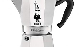 The Original Bialetti Moka Express - 6 Cup Stovetop Coffee Maker with Safety Valve – brews 9.2 ounces
