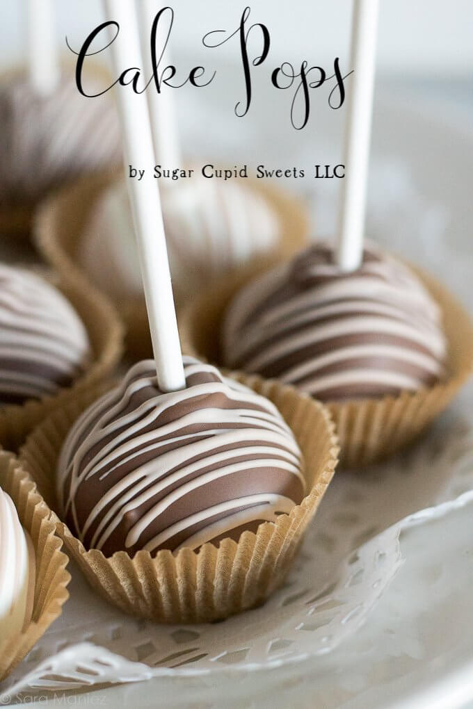 Cake Pops by Sugar Cupid Sweets LLC - I'm sharing some photos of beautiful and delicious chocolate and vanilla cake pops made by my friend Laura of Sugar Cupid Sweets LLC. #cakepops #chocolate #vanilla #njbakery #bakery #sugarcupidsweetsllc #sugarcupidsweets