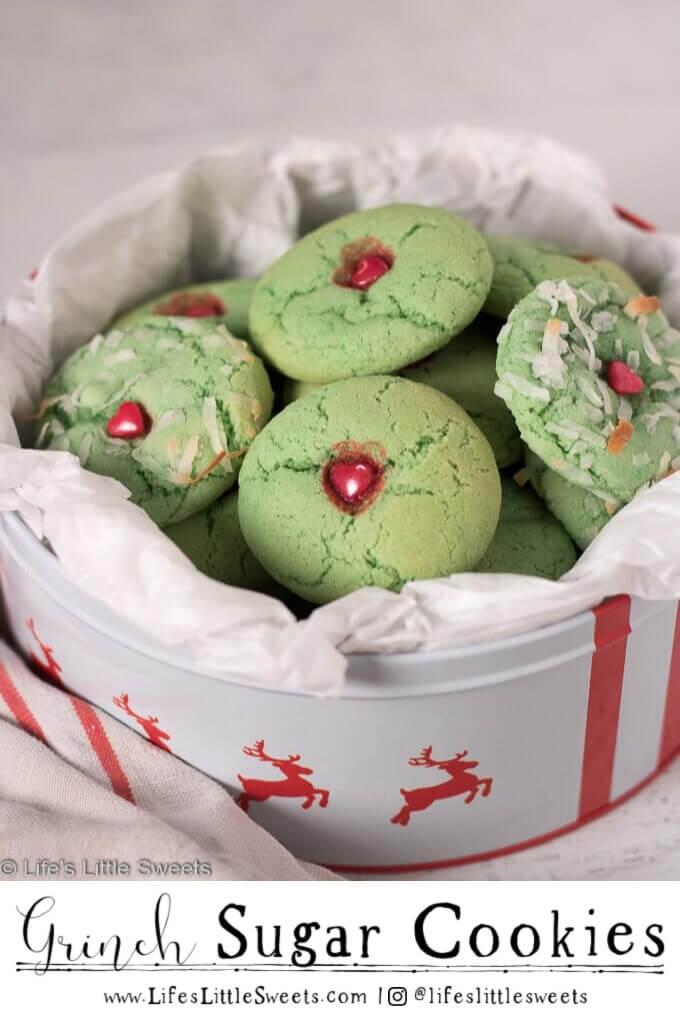 Grinch Sugar Cookies