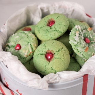 Grinch Sugar Cookies