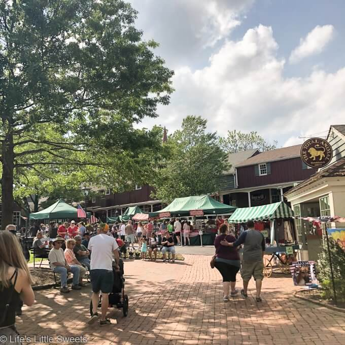 Visit to the Strawberry Festival at Peddler's Village
