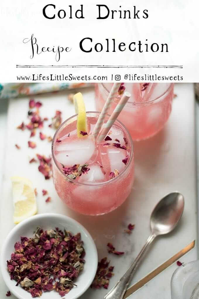 Cold Drinks Recipe Collection - Rosewater Lemonade
