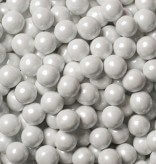 Sweetworks White Pearl Sixlets 1 lb Bag