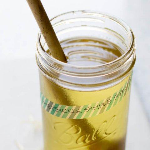 Honeysuckle Simple Syrup lifeslittlesweets.com