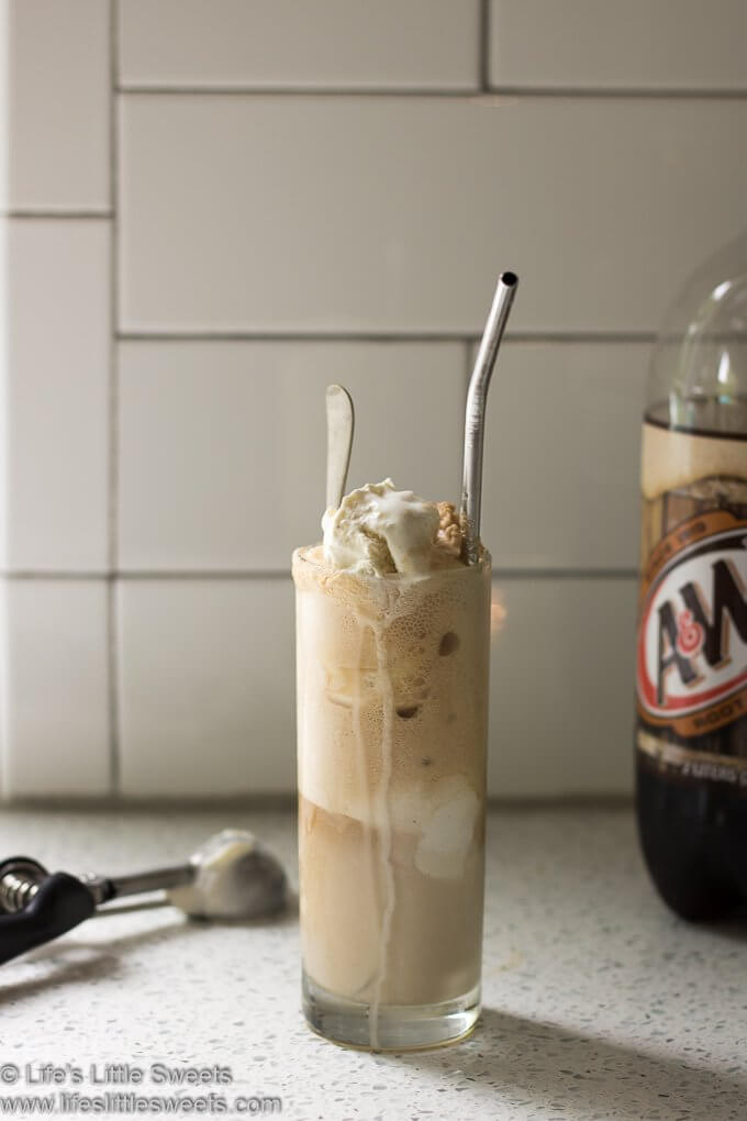 Root Beer Float Recipe lifeslittlesweets.com