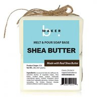 bMAKER Shea Butter Melt & Pour Soap Base