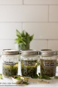 Fresh Herb Salad Dressing lifeslittlesweets.com
