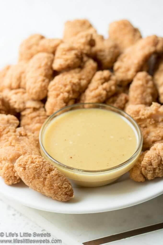 Honey Mustard Sauce lifeslittlesweets.com