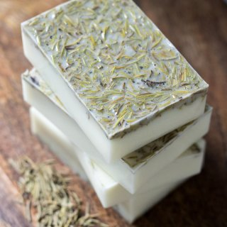 How to Make Rosemary Soap lifeslittlesweets.com
