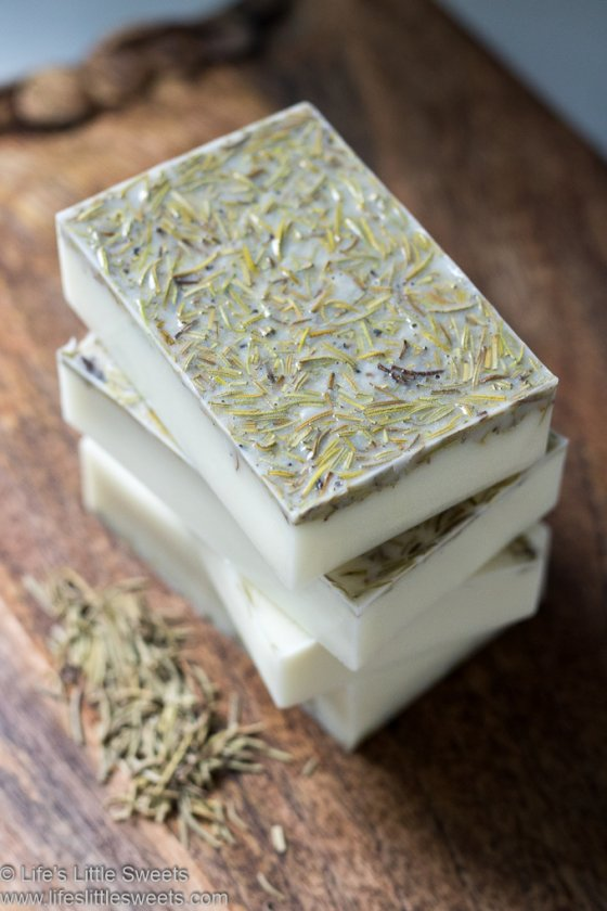 How to Make Rosemary Soap