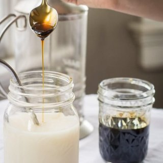Oat Coffee Milk lifeslittlesweets.com