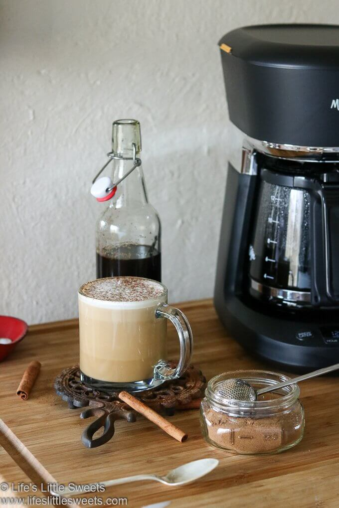 Homemade Gingerbread Coffee Recipe lifeslittlesweets.com