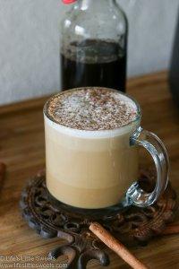 Homemade Gingerbread Coffee Recipe lifeslittlesweets.com