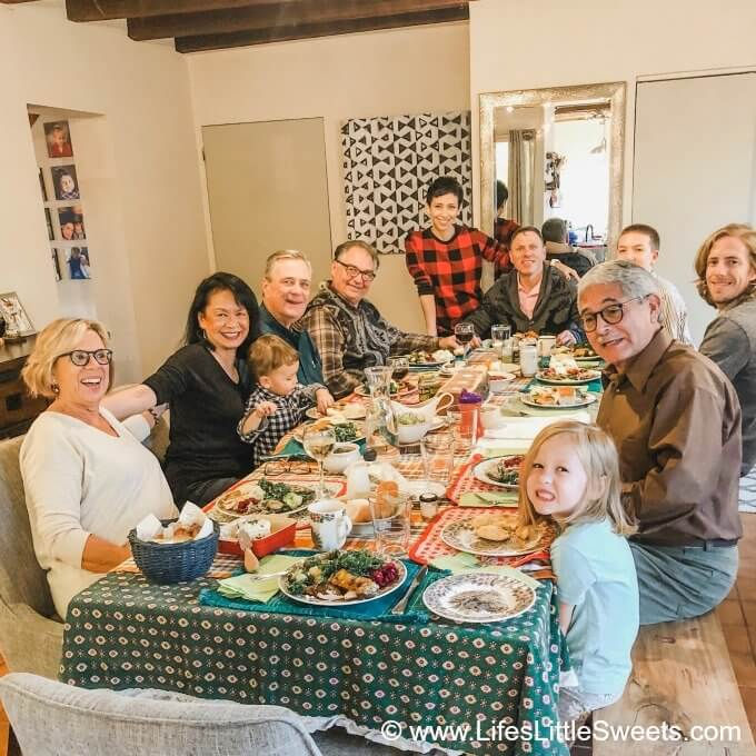 Thanksgiving Menu 2019
