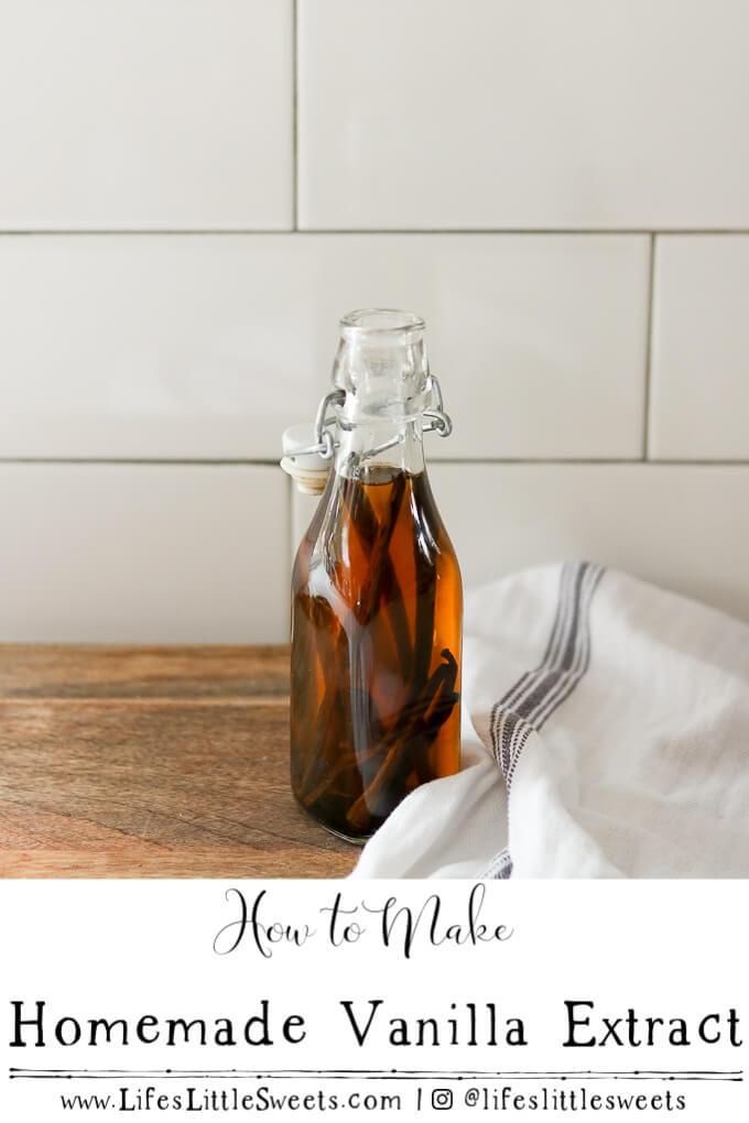 How to Make Homemade Vanilla Extract #vanillaextract #vanilla #vanillabeans #ingredients #recipe #homemade