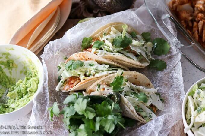 Fish Tacos www.lifeslittlesweets.com