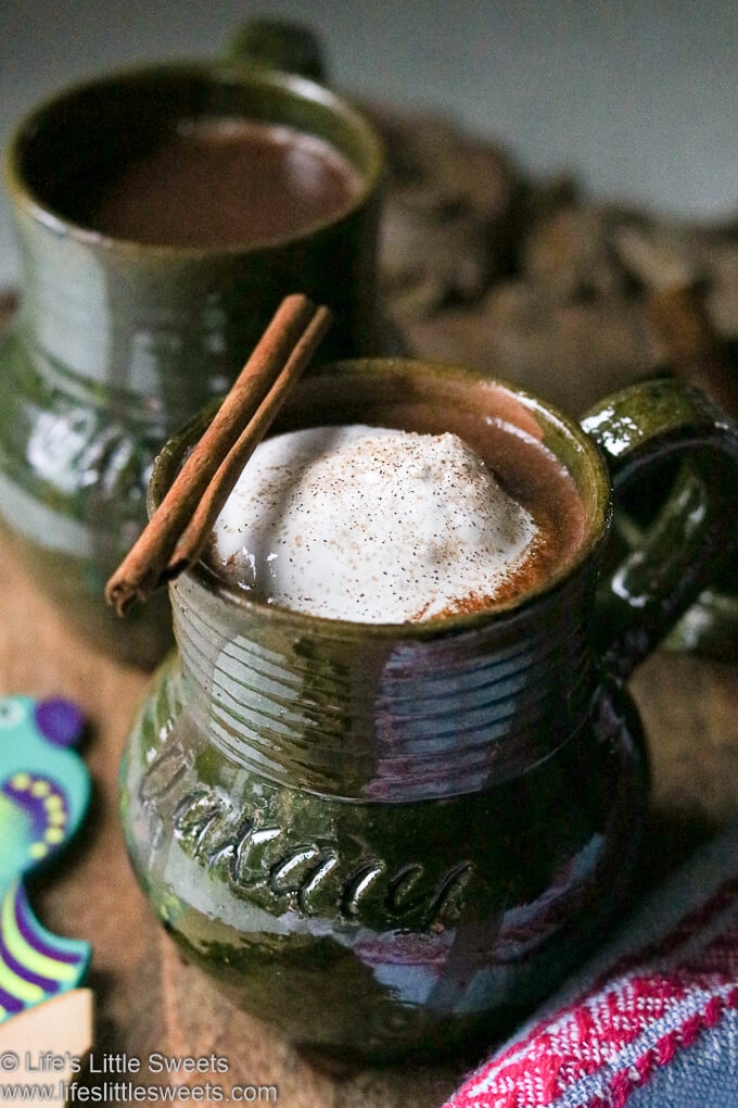 Mexican Hot Chocolate www.lifeslittlesweets.com