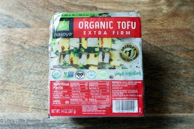 Air Fryer Tofu Recipe www.lifeslittlesweets.com