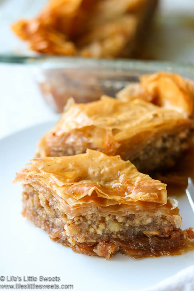 Baklava Recipe www.lifeslittlesweets.com