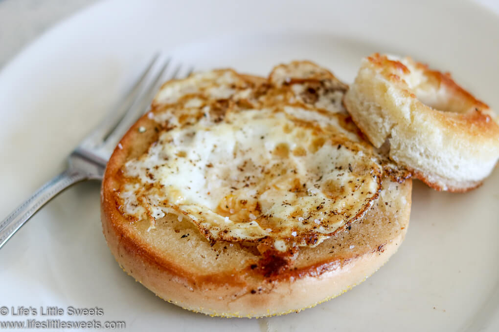 Egg In a Hole Bagel