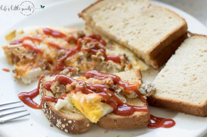 Ground Turkey Eggs Breakfast Scramble