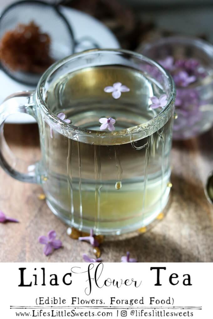 Lilac Flower Tea Recipe