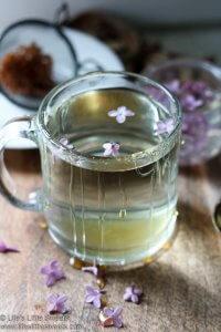 Lilac Flower Tea