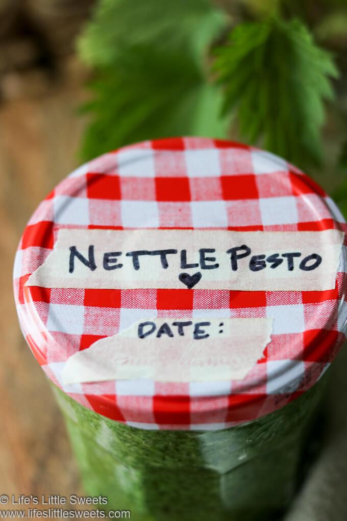 Nettle Pesto Recipe