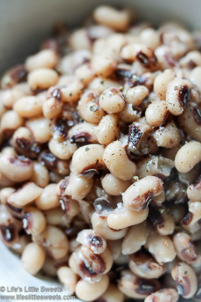Instant Pot Black Eyed Peas Recipe