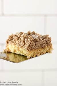 New York Crumb Cake Recipe