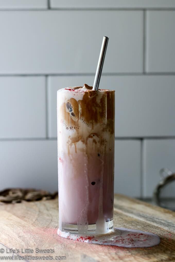 Strawberry Dalgona Whipped Coffee Recipe