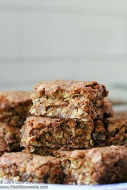 Oatmeal Raisin Cookie Bars