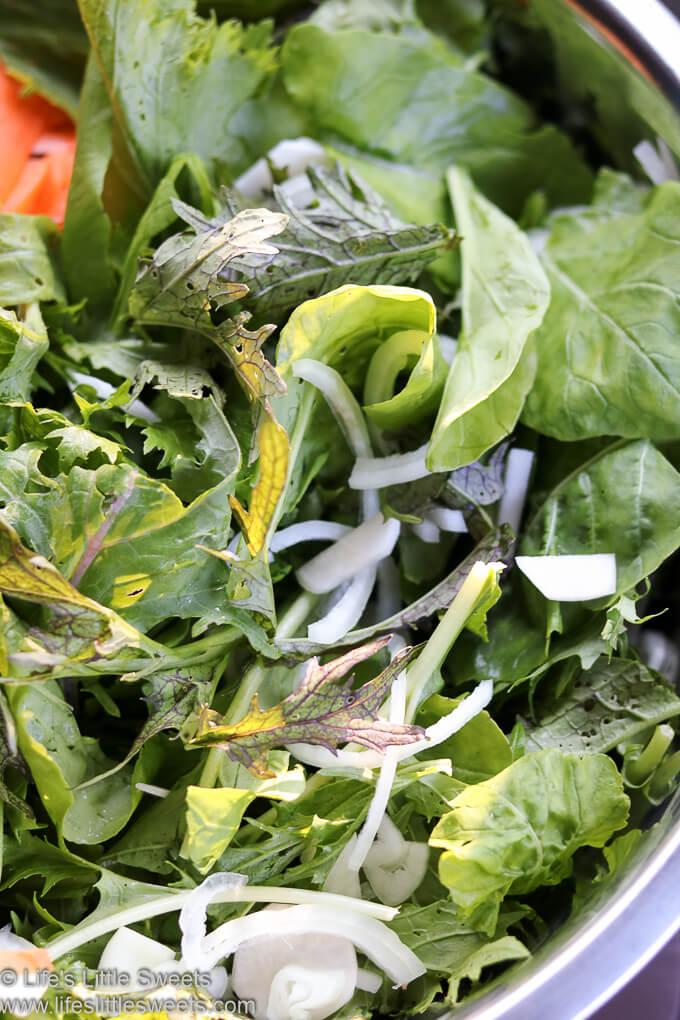 Spicy Greens Salad