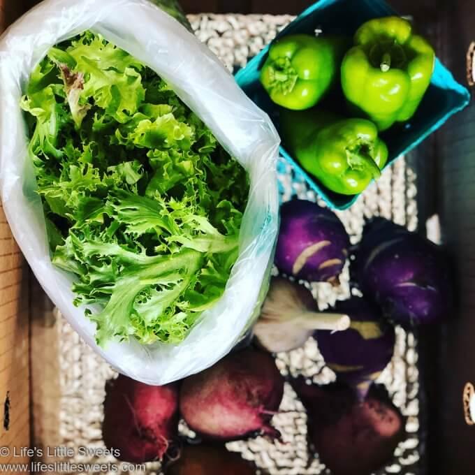 Organic CSA Share Box Week 3