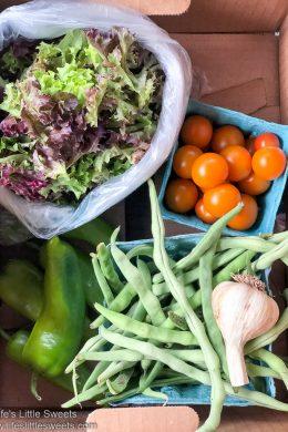 Organic CSA Share Box Week 4